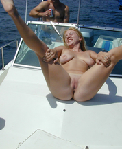 My Girl Friend invited a friend on my boat